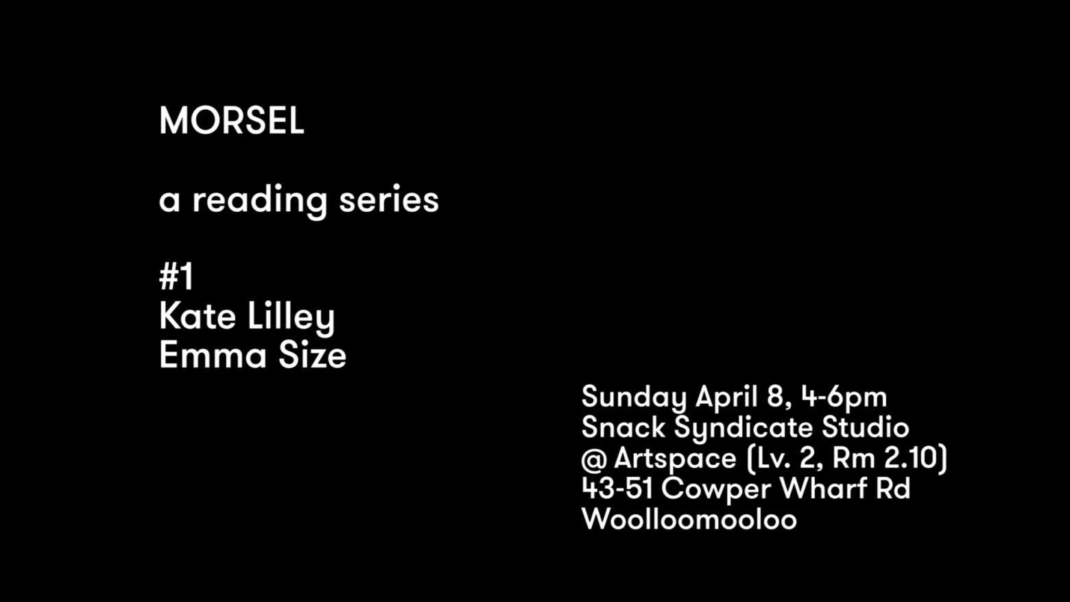 Morsel #1